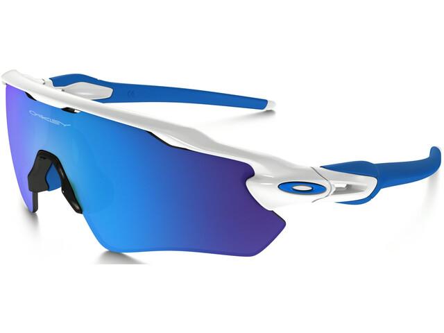 Oakley Radar EV XS Path - Lunettes cyclisme - bleu blanc - Boutique ... 6568bb124366
